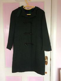 Albyn School Duffel coat, nearly new