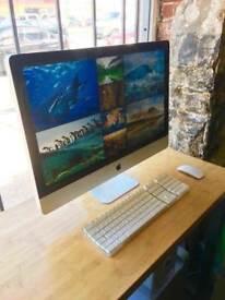 27' Apple iMac Quad Core i7 3.4Ghz 8gb Ram 1TB Final Cut Pro X Davinci Resolve Studio Capture One 10
