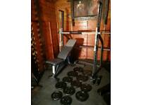 Marcy smith machine Marcy with bench and 80 kg weights