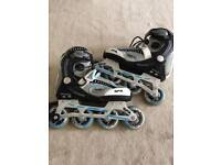 Like new sfr limited edition roller blades size 4