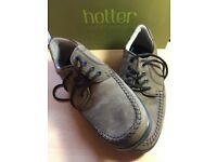 Hotter Stitch Fudge Nubuck Man's shoes. Size 8.5. BNIB.