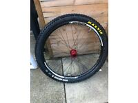 Hope tech enduro front wheel brand new