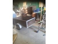 5 x 3 TRAILER WITH LIGHT BOARD AND ELECTRICS