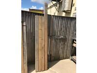 4 x Deluxe Fence Posts 4