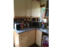 £200 ono, Full kitchen units, sink unit, and worktops.