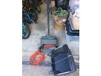 Black & Decker lawn scarifier