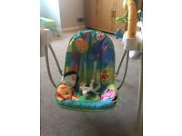 Fisher-Price Discover and Grow Take Along Swing