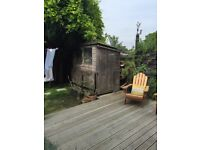 We have a shed we need dismantling and taken away - FREE