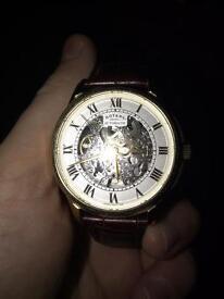 Rotary Skeleton Men's Watch