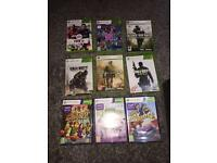 Xbox 360 slim, Kinect and 9 games