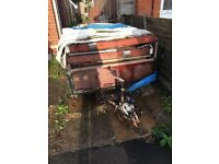 Trailer tent free to collector
