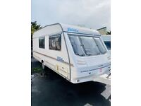 2005 sterling vitesse 4 berth end bathroom light weight easy to tow