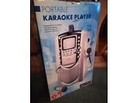 Portable karaoke player