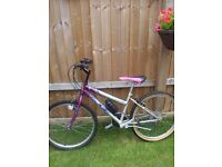 24in ladies ridge mountain bike as new cost 500 superb