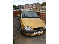 Citroen saxo vtr 2000 very clean, low mileage