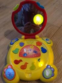 Toy with music and lights - laptop nursery rhymes
