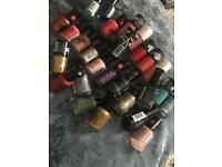 Mixed bundle - Nail Polishes ( New)