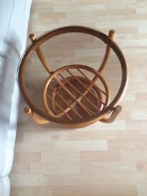 Small round coffee table