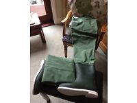 Snowbee boot footed waders, size 11 new still boxed.