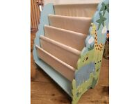 Guidecraft Hand Carved and Painted Bookcase - Jungle
