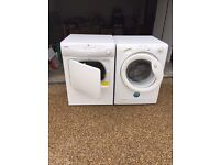 Candy Washer (9 kg) and Hoover Dryer (7 kg) for sale