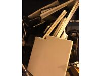 """Off cuts of 2"""" poly sheets various sizes from 8 by 4 down"""