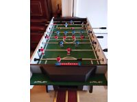 Riley, Large sized folding table football game. Approx 1 year old