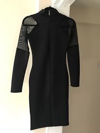 Missguided black dress Size 8