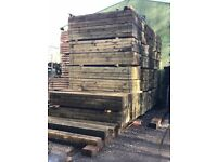 New Softwood ECO Sleepers, 2.4m x 200mm x 100mm