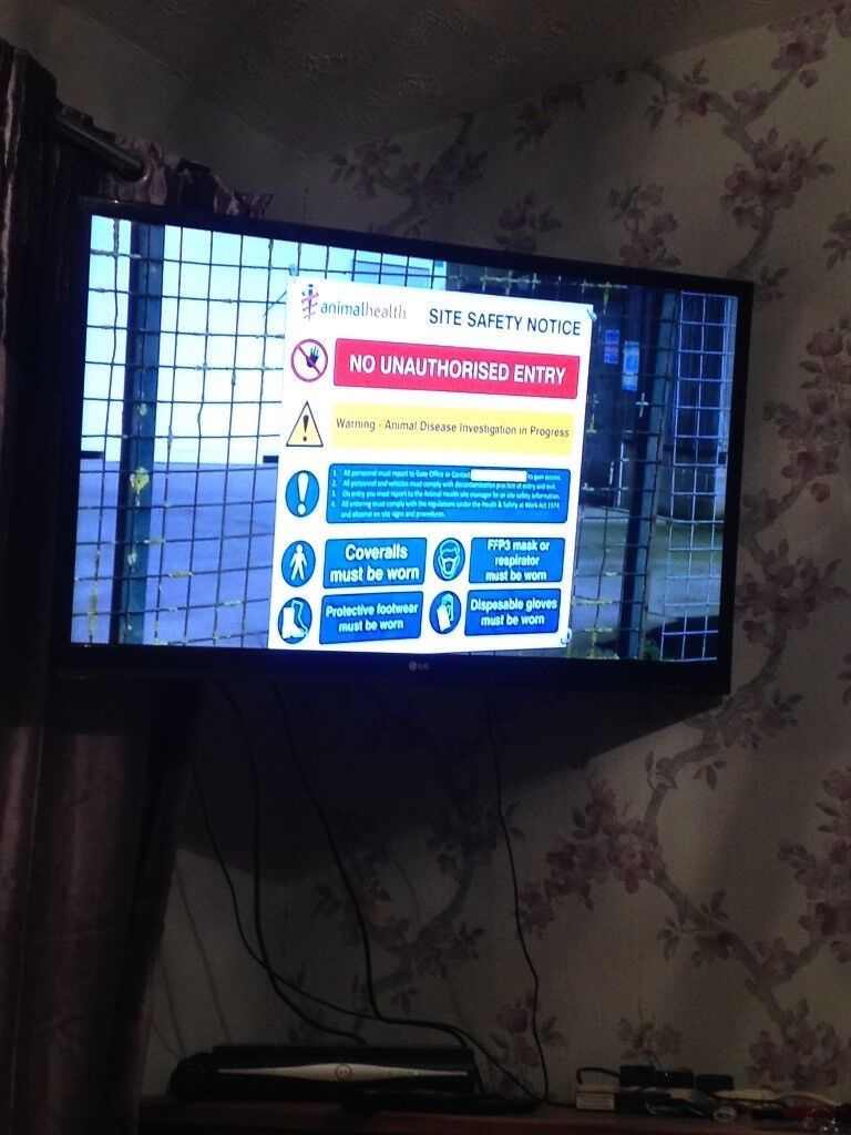 For sale lg 43 inch 3 d tv