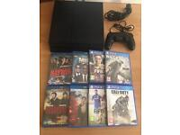 Sony PS4 console complete with 4 games and 4 blu rays - bargain £169