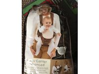 Baby bouncer baby carrier