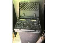 Citronic CD Mixer with case included - Disco equipment