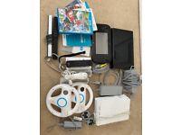 Wii AND Wii U (32GB) Black
