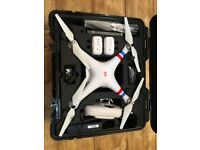 DJI Phantom 2 Drone inc. GoPro Hero3, hard case, 2x battery, flight monitor and extras