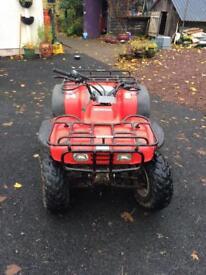 Honda big red 4x4 quad 1990 model