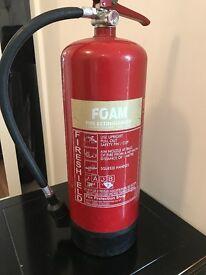 6 Litre AFFF Foam Fire Extinguisher