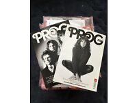 Prog magazine 34 editions, Dec 12 - May 18, most sealed