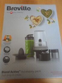 BRAND NEW BREVILLE BLEND ACTIVE ACCESSORY PACK