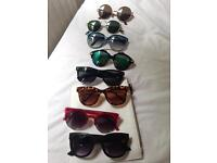Selection of sunglasses