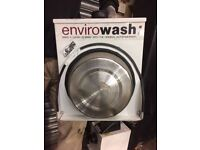Back of Van Hot Water Dispenser, Enviro Wash Basin and Hand Cleaning Equipment for Sale! *BARGAIN*
