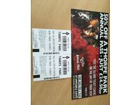 2 tickets to Thorpe Park tickets for 25th July 2018