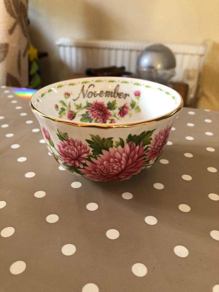 Royal Albert Flower of the Month Bowl