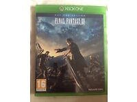 Final Fantasy XV (15) For the Xbox one