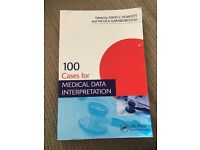 100 Cases for medical data interpretation, very good condition!