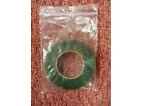 12mm Wide Green Florist Stem Tape Floristry Wire Wrap for Crafts Corsages Button Holes Bouquets etc