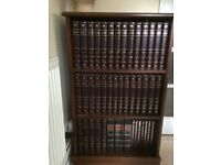 Encyclopaedia complete edition 1994, bookcase included
