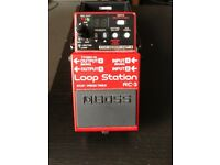 Boss RC3 loop station for sale