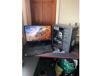 Full Gaming Bundle Intel 7Th Gen/ 4GB Nvidia GeForce/DDR4 Ram/SSD+ HDD Gaming PC