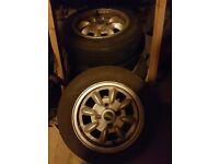 Ultralite mini alloy wheels 12 inch